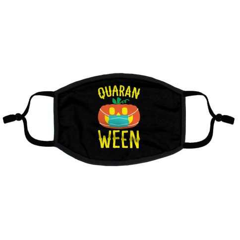 Quaran-Ween Flat Face Mask
