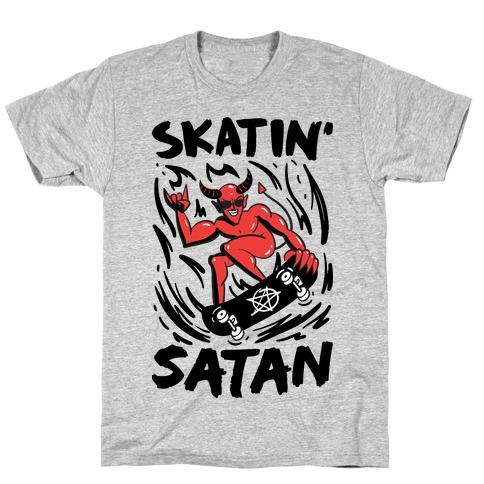 Skatin' Satan T-Shirt