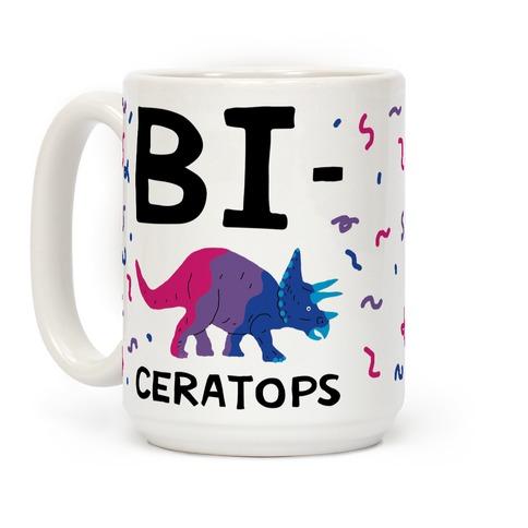 Bi-ceratops Coffee Mug