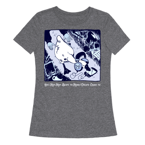 Lofi Hip Hop Goose Womens T-Shirt