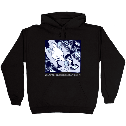 Lofi Hip Hop Goose Hooded Sweatshirt