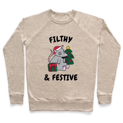 Filthy & Festive Pullover