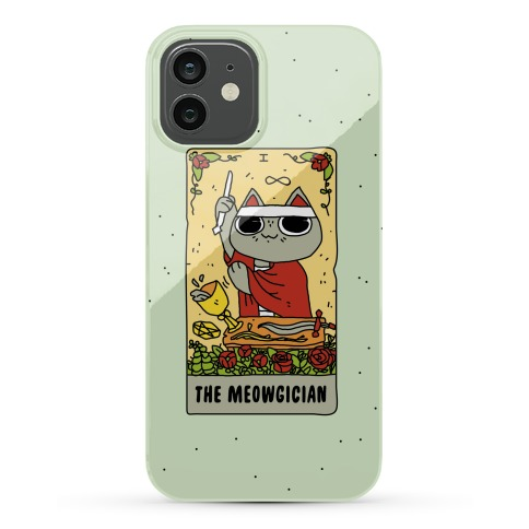 The Meowgician Phone Case