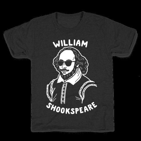William Shookspeare Kids T-Shirt