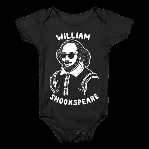 William Shookspeare Baby Onesy