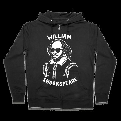 William Shookspeare Zip Hoodie