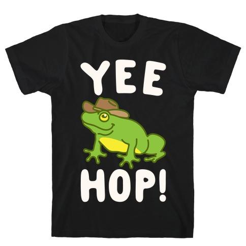Yee Hop White Print T-Shirt