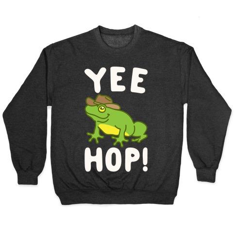 Yee Hop White Print Pullover