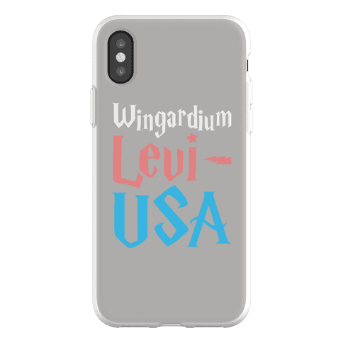 Wingardium Levi-USA Phone Flexi-Case