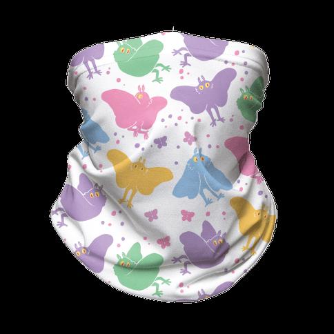 Cute Pastel Mothman Neck Gaiter