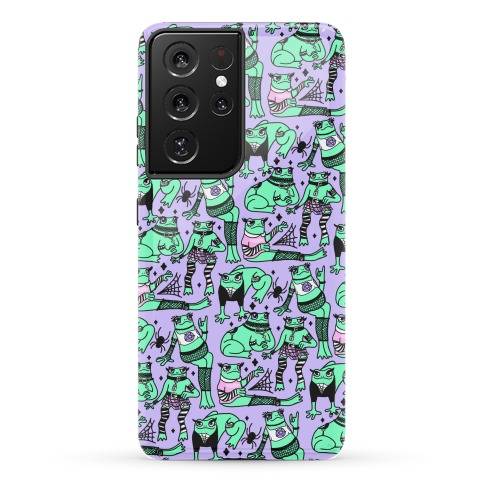 Goth Frogs Pattern Phone Case