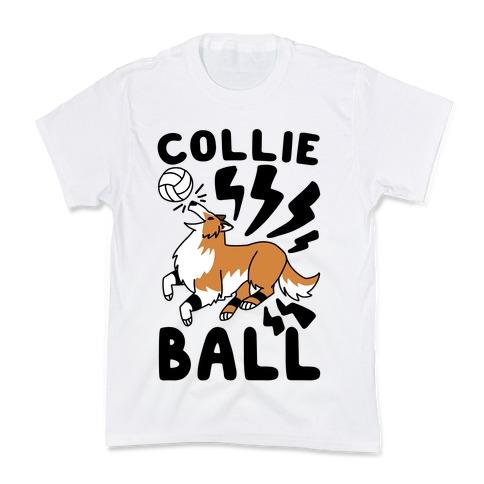 Collie Ball Kids T-Shirt