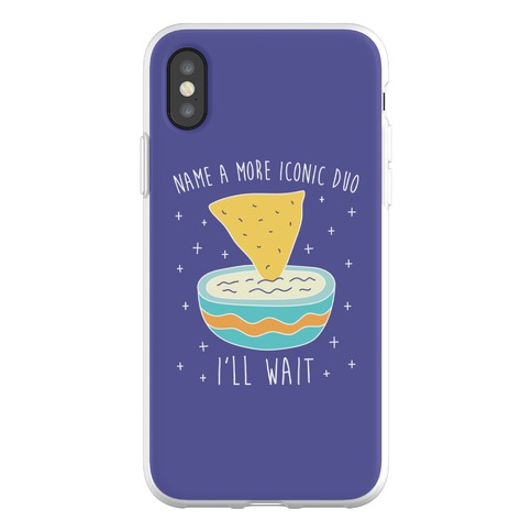 Name A More Iconic Duo Chips And Queso Phone Flexi-Case