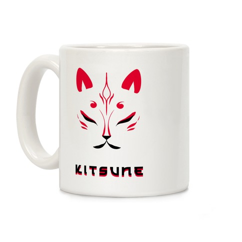 Kitsune Face Coffee Mug