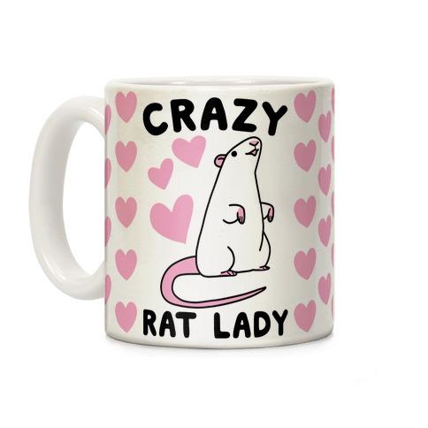 Crazy Rat Lady Coffee Mug