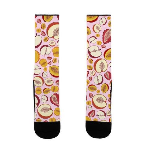 Fruity Vaginas Pattern Sock