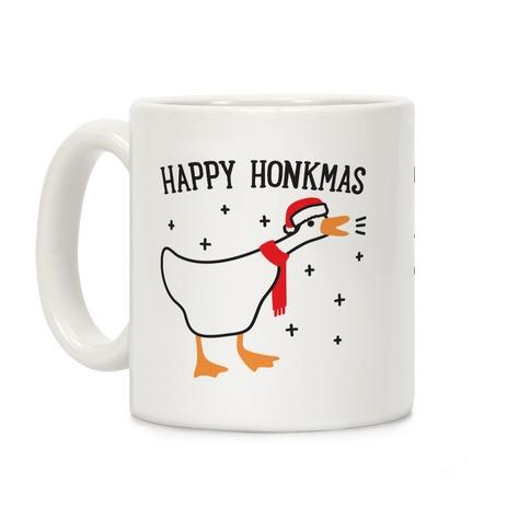 Happy Honkmas Goose Coffee Mug