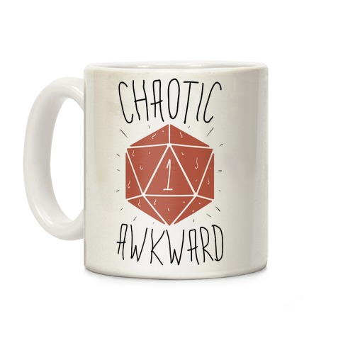Chaotic Awkward Coffee Mug