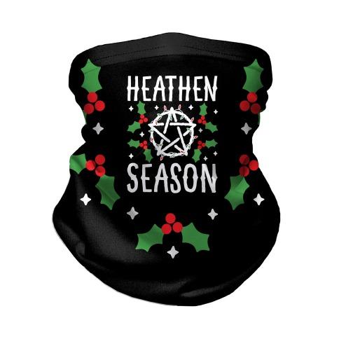 Heathen Season Christmas Neck Gaiter