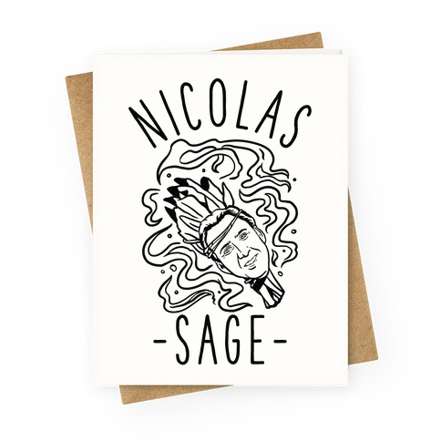 Nicolas Sage Greeting Card