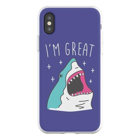 I'm Great (Shark) Phone Flexi-Case