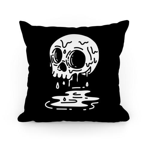 Melting Skull Pillow