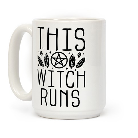 This Witch Runs Coffee Mug