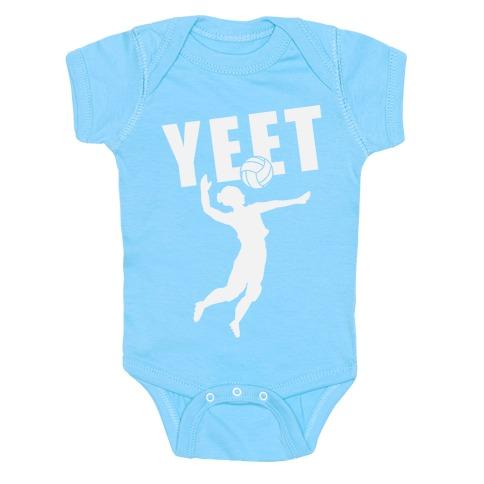 Volleyball YEET Baby Onesy