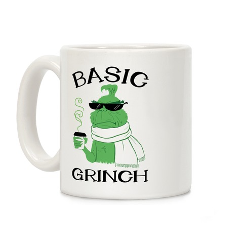 Basic Grinch Coffee Mug