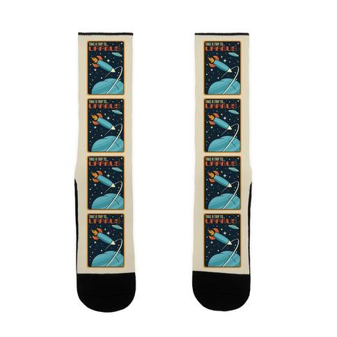 Take A Trip To Uranus Parody Sock