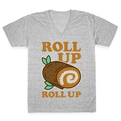 Roll Up Roll Up V-Neck Tee Shirt