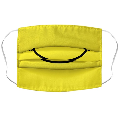 Emoji Mouth Accordion Face Mask