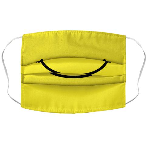 Emoji Mouth Accordion Face Mask