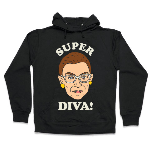 Super Diva RBG Hooded Sweatshirt