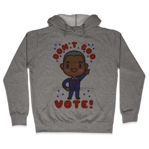 Chibi Obama Hooded Sweatshirt