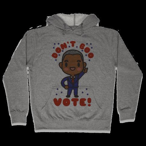 Chibi Obama Hooded Sweatshirt