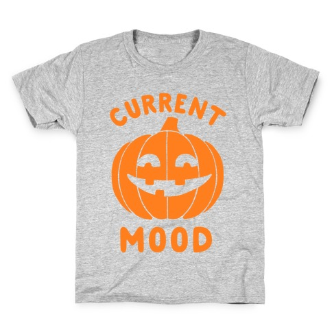 Current Mood: Halloween Kids T-Shirt