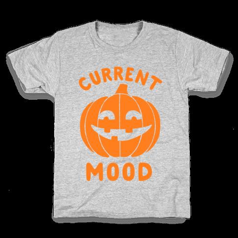 Current Mood: Halloween Kids T-Shirt