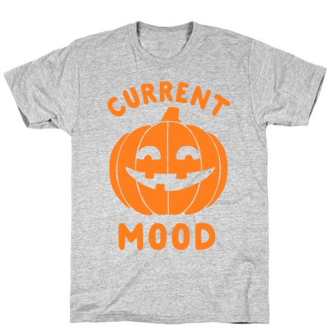 e130eaf4 Current Mood: Halloween T-Shirt | LookHUMAN