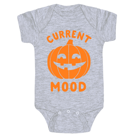 Current Mood: Halloween Baby Onesy