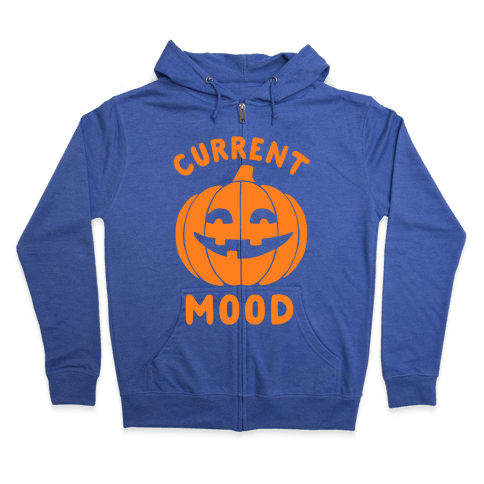 Current Mood: Halloween Zip Hoodie