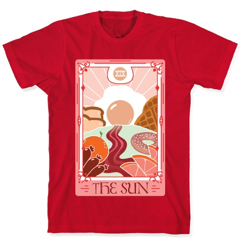 The Sun Breakfast Tarot T-Shirt