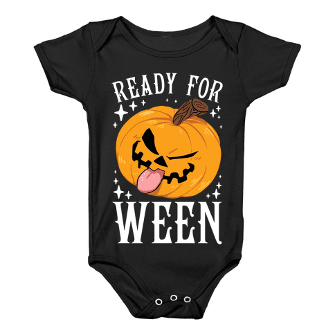 Ready For Ween Baby Onesy