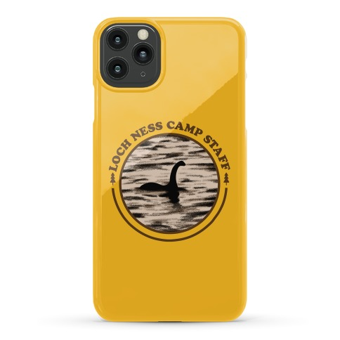 Loch Ness Camp Staff Phone Case