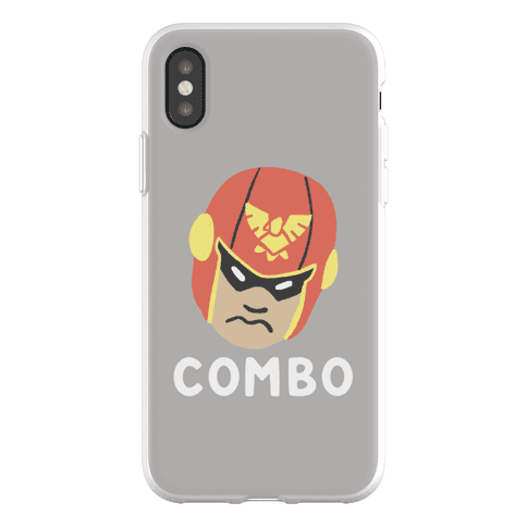 Wombo Combo - Captain Falcon (1 of 2 Set) Phone Flexi-Case