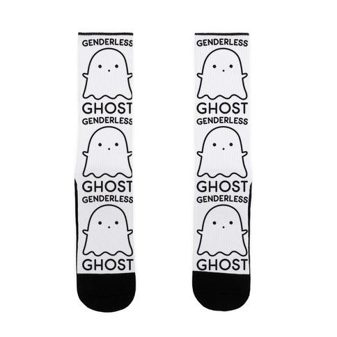 Genderless Ghost Sock