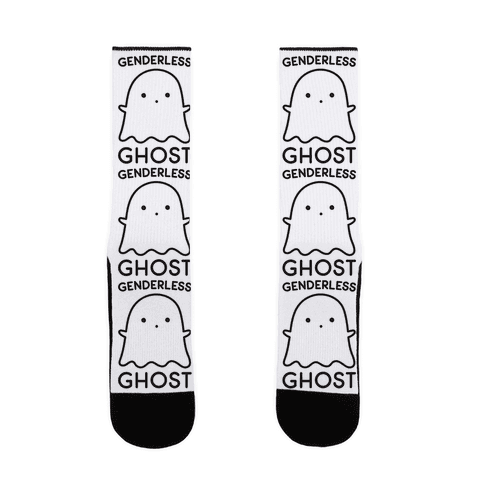 Genderless Ghost Sock
