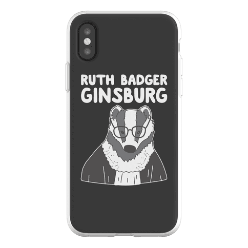 Ruth Badger Ginsburg Phone Flexi-Case