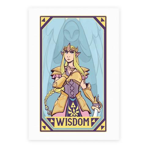 Wisdom - Zelda Poster