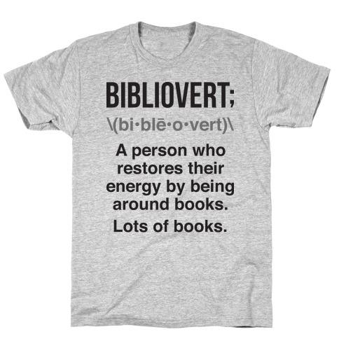 Bibliovert Definition T-Shirt